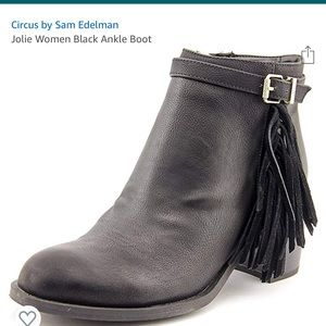 Circus by Sam Edelman Jolie black ankle boots